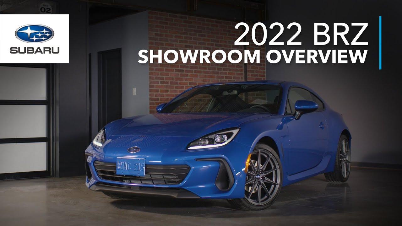 Download 2022 Subaru BRZ - Showroom Overview