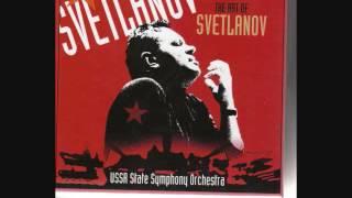 スヴェトラーノフ指揮ソ連国立交響楽団 チャイコフスキー交響曲第2番.