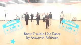 Know Trouble Line Dance