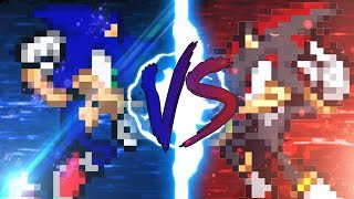 Sonic VS Shadow (pivot sprite battle)