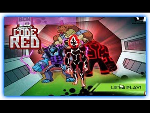Ben 10 Omniverse Code Red 1 - Ben 10  Games