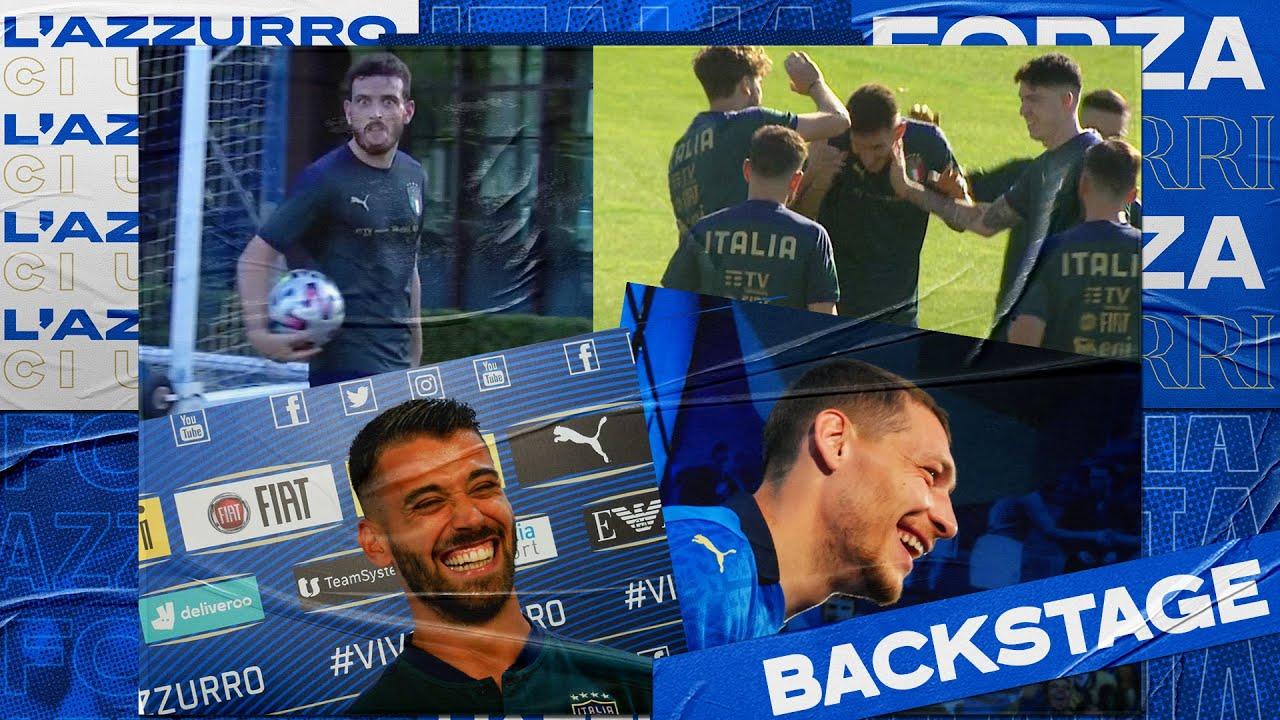 Backstage Azzurri Campioni d'Europa | EURO 2020