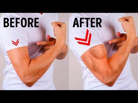 체육관 가지 않고 굵은 팔을 만들 수 있는 6가지 간단한 운동