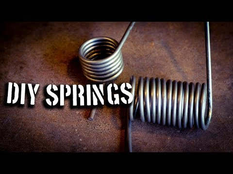 DIY Springs... Make Your Own Springs at Home!