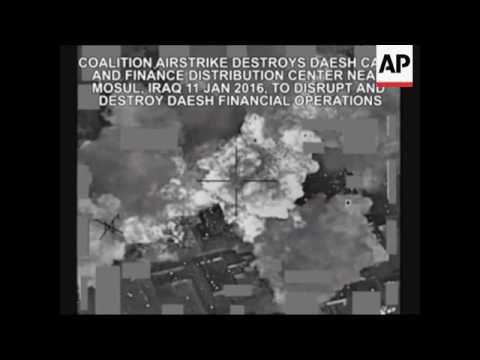 Coalition Airstrike Destroys IS Cash Center