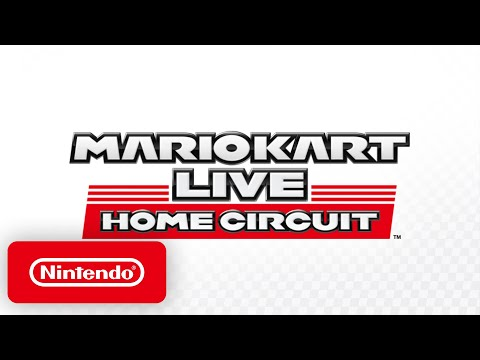 Mario Kart Live: Home Circuit - Announcement Trailer - Nintendo Switch