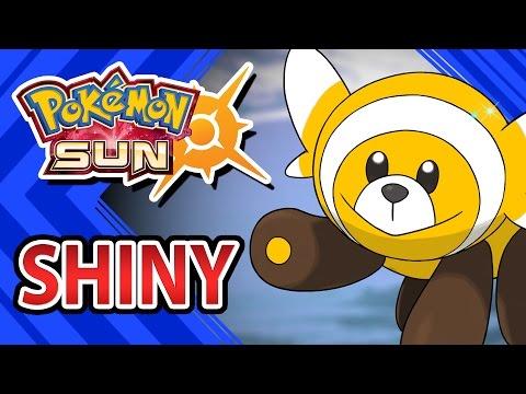 [Pokémon Sun and Moon] POKEMON SUN AND MOON | SHINY STUFFUL IN 412 SOS CALLS