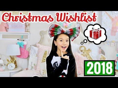 My CHRISTMAS WISHLIST! 2018