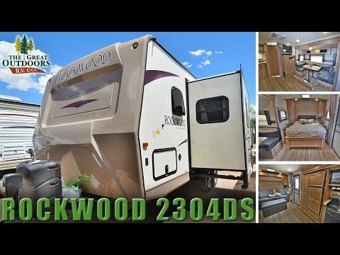 New Murphy Bed Model 2018 Rockwood Ultra Lite 2304DS R1106 Travel Trailer Colorado RV Dealer