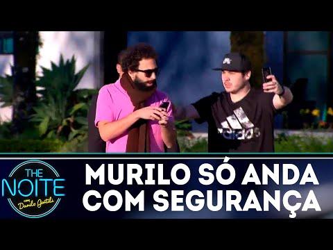 Curiosidades do The Noite: Murilo Couto só anda com segurança   The Noite (04/09/18)