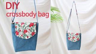 DIY cross bag/crossbody bag tu…