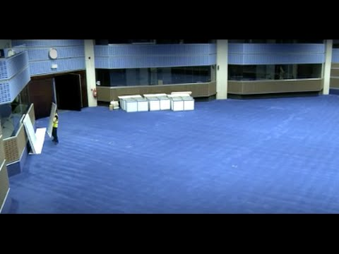 Time-lapse of Feltech's media centre fit out at the QEii Conference Centre.