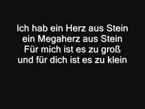 Megaherz - Herz Aus Stein (with lyrics)