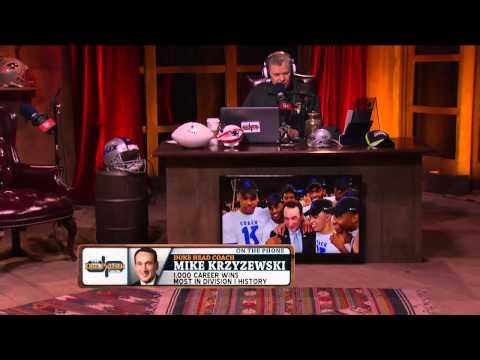 Coach Mike Krzyzewski on The Dan Patrick Show (Full Interview) 1/27/15