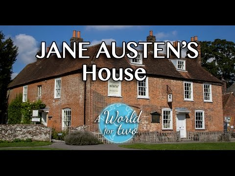 JANE AUSTEN'S HOUSE-MUSEUM: Time-Travel to Georgian time.