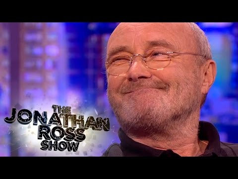 Phil Collins' Relationship With The Royal Family - The Jonathan Ross Show