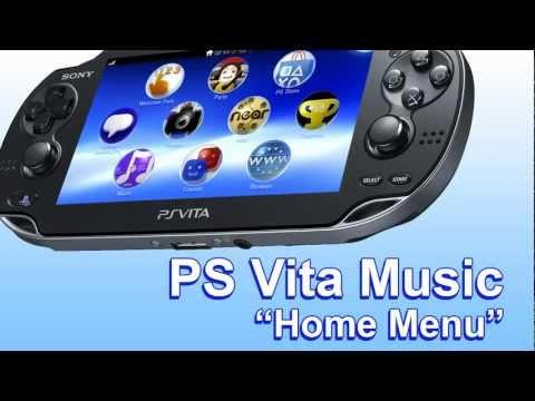 (PS Vita Music) - Home Menu