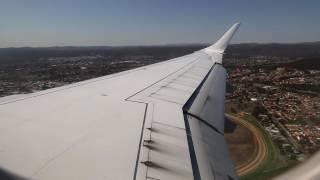 Virgin Australia Embraer E190 Landing - Canberra (VA 642)