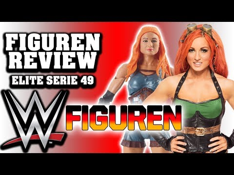 WWE Mattel BECKY LYNCH - Elite Serie 49 | FIGUREN REVIEW & MEINUNG?!