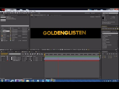 How to make an animated Youtube banner in After Effects (PATCHED - how to make banner for youtube