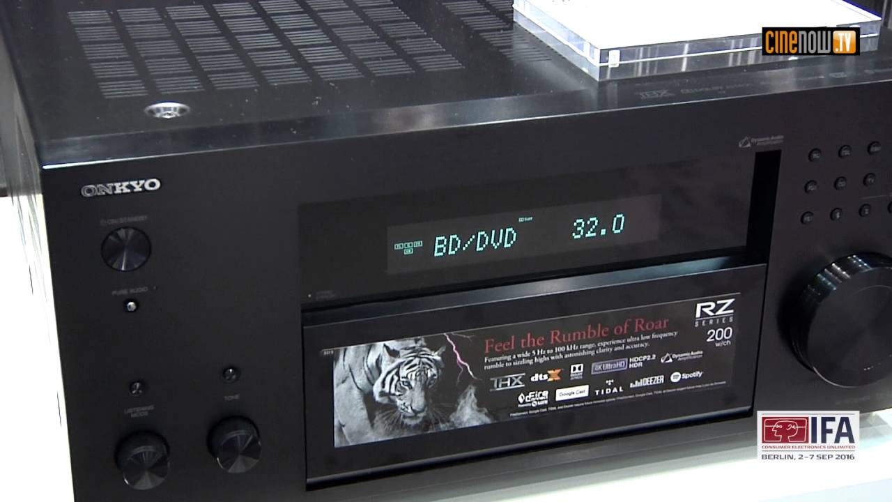 AV Onkyo TX-RZ1100 Black