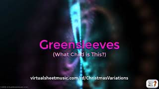 Greensleeves - What Child is This? - Christmas Music Fantasy Video