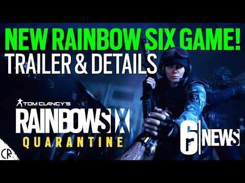 New Rainbow Six Game! Quarantine – Tom Clancy's Rainbow Six