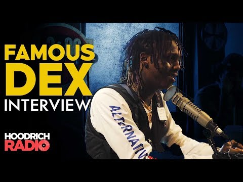 Famous Dex Reveals His Craziest Celeb DM and more on HoodRich Radio