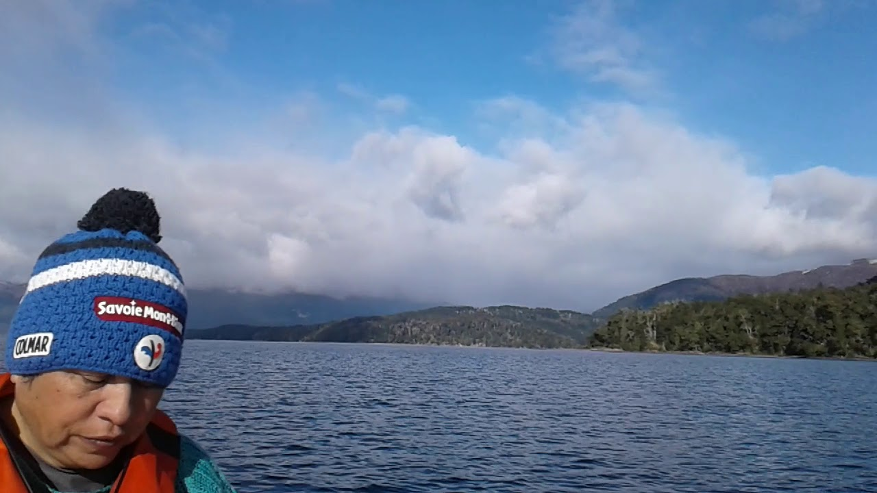 lago nahuel huapi brazo rincon villa la angostura - YouTube