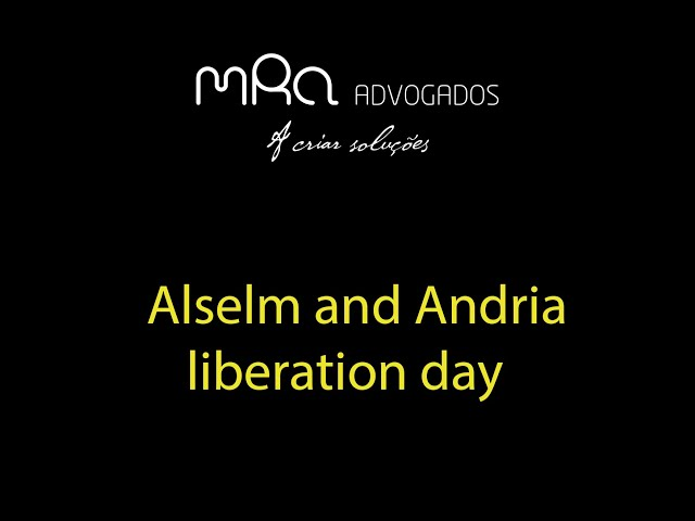 Alselm and Andria liberation day