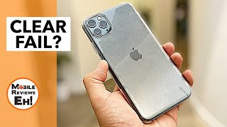 Apple iPhone 11 Clear Case Review - A TERRIBLE, TERRIBLE case