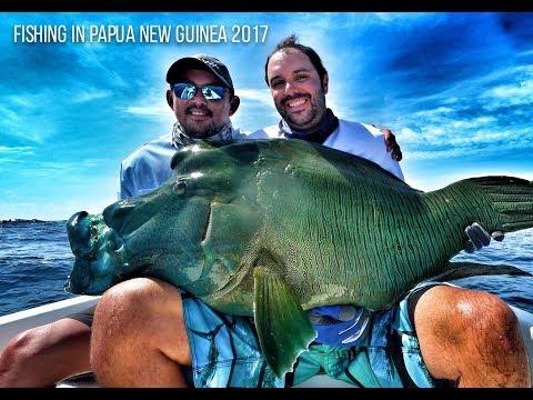 FISHING IN OCEANIA   SEASON 2017   PAPUA NEW GUINEA   GT FISH   GO PRO