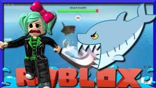 JAWS ist nach uns! Roblox Shark Bite mit GoldenNinja50, SallyGreenGamer, Geegee92 Familienfreundlich