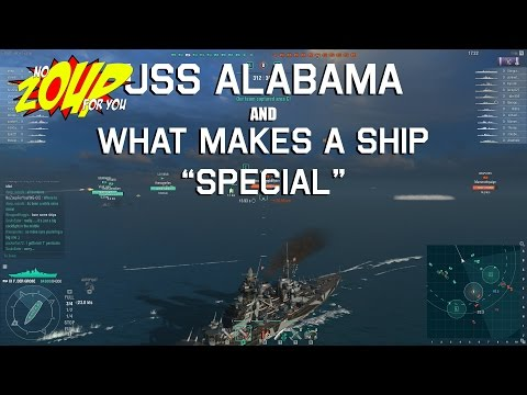World of Warships - USS Alabama and What Makes a Ship Special