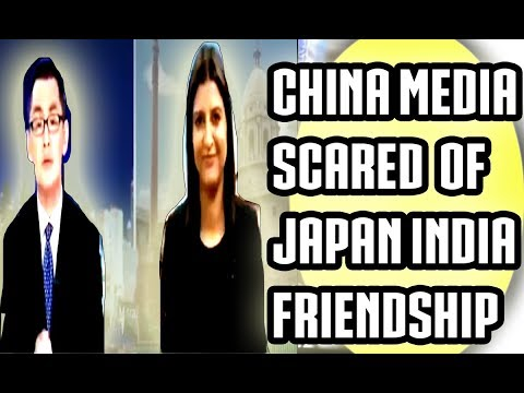 CHINESE MEDIA JEALOUS OF INDIA jAPAN FRIENDSHIP 2017 Latest
