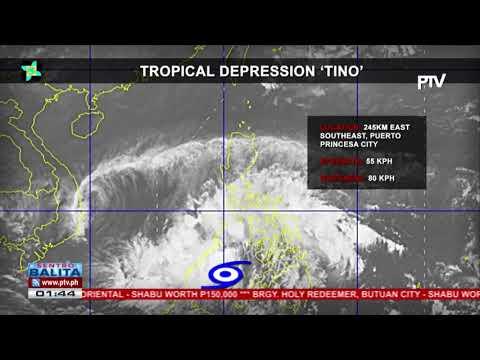 PTV INFO WEATHER: Bagyong #TinoPH, nagpapaulan sa Mindanao at malaking bahagi ng Visayas