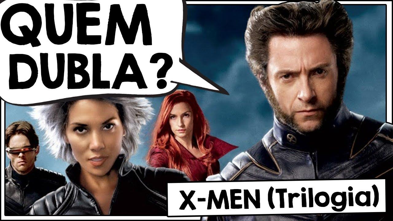 CONHEÇA OS DUBLADORES DOS X-MEN (Trilogia clássica)