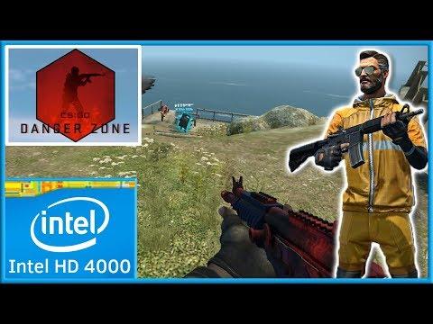 CS:GO - Danger Zone   Intel HD 4000 Graphics  
