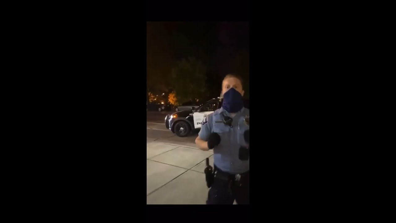 ON VIDEO Minneapolis Police Officers Harassment used excessive force and false arrest on 6/1/2020!