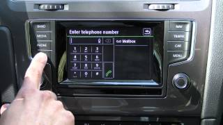 2015 Volkswagen Golf Infotainment Review