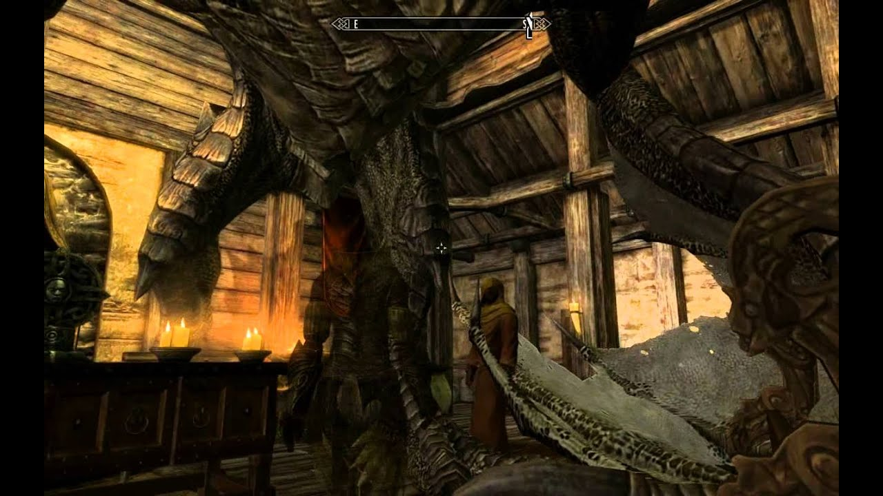 Skyrim what happens when you try to marry a dragon