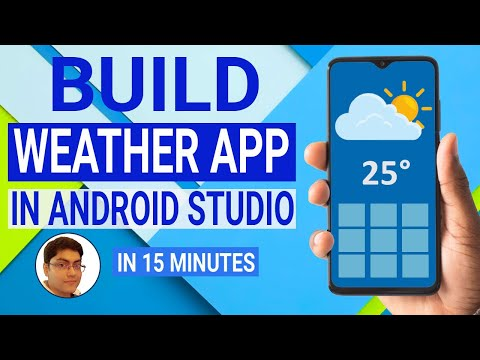 Build a Weather App in Android Studio   Volley Library   OpenWeatherMap API