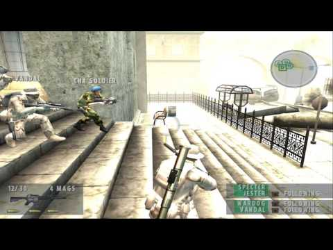 Socom 2 Mission 8 - HD Gameplay - PCSX2