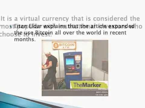 Eitan Eldar - Huge Venture Capital Investments in Companies Related to Bitcoin