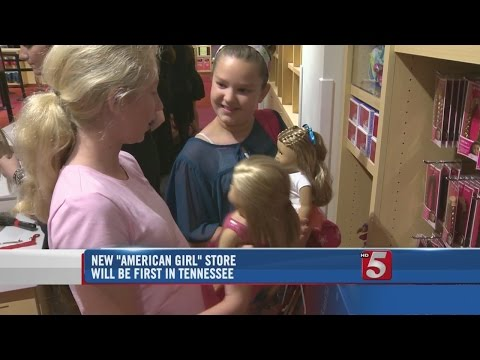 Tennessee's First American Girl Store Opens Saturday