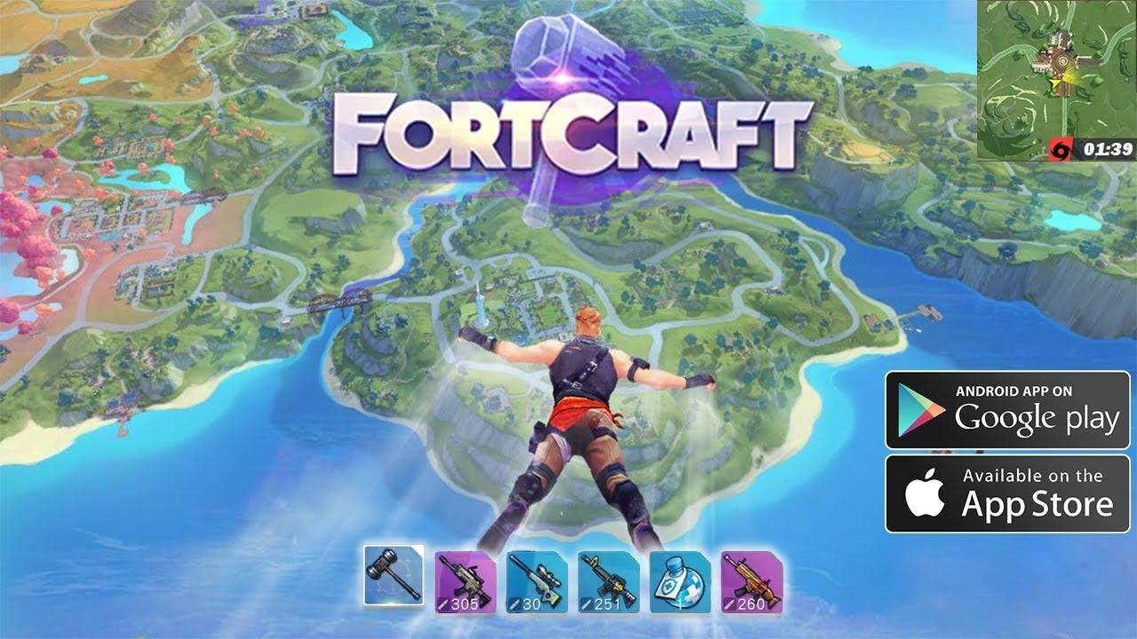Fortcraft Creative Destruction Le Clone De Fortnite Sur Mobile