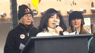 2018 Santa Fe New Mexico Women's March - Patsy Romero