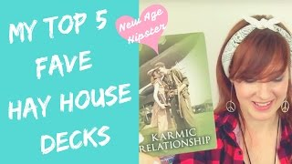 My Top Five Faves | Hay House Decks x