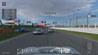 Gran Turismo Sport - Tsukuba One Class Online Race (Mazda RX-7)