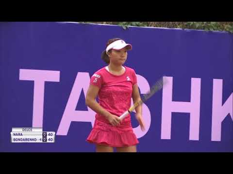 Kurumi Nara vs Katerina Bondarenko - Tashkent Open 2017